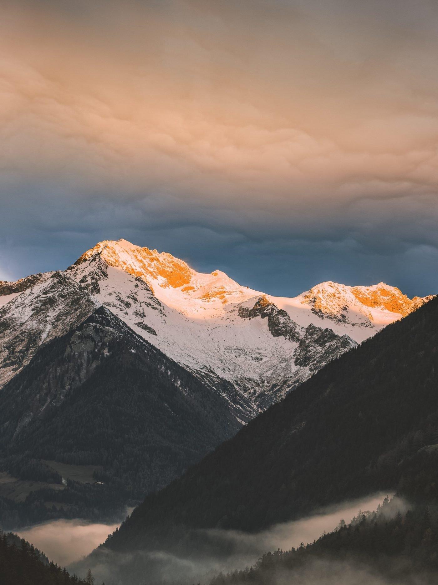 Berge Zillertal Tirol Österreich