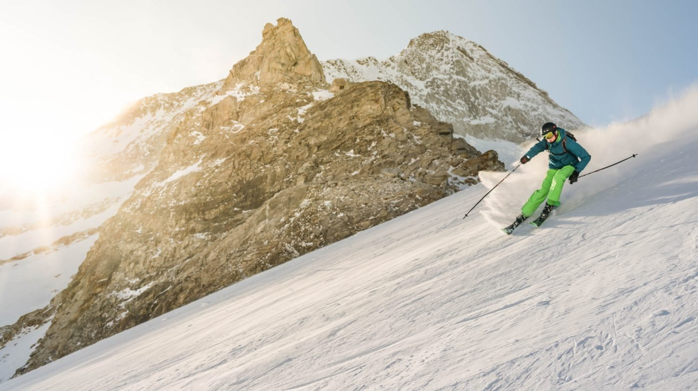 Wintercamping Ski Snowboard