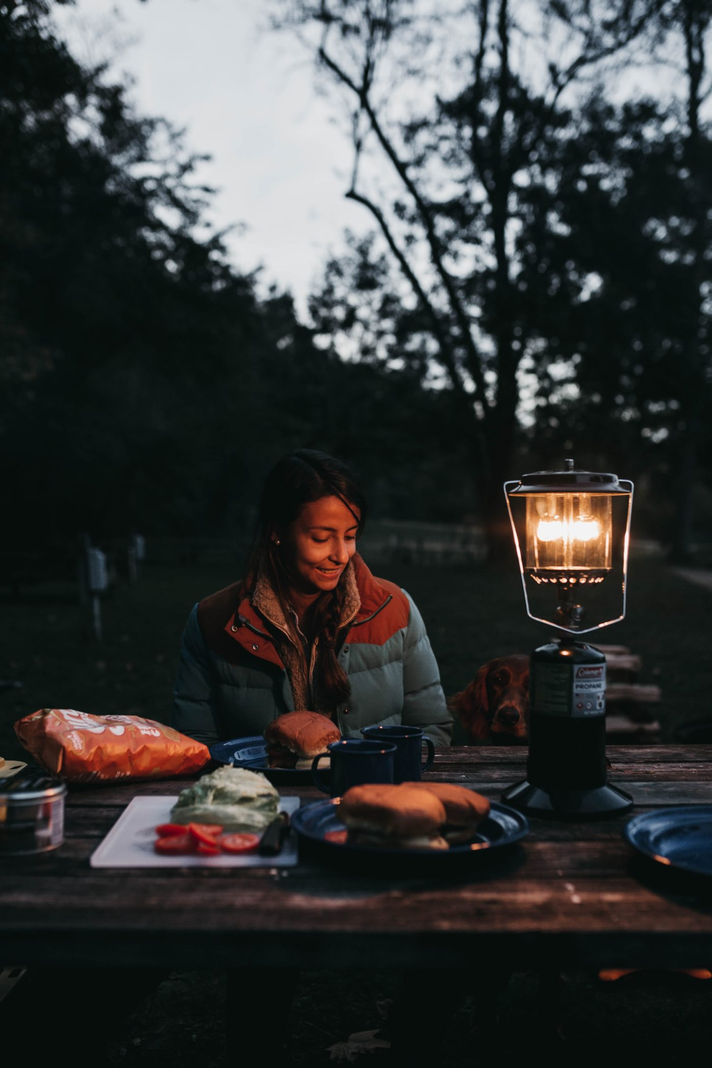Frauen Camping Liste Essen