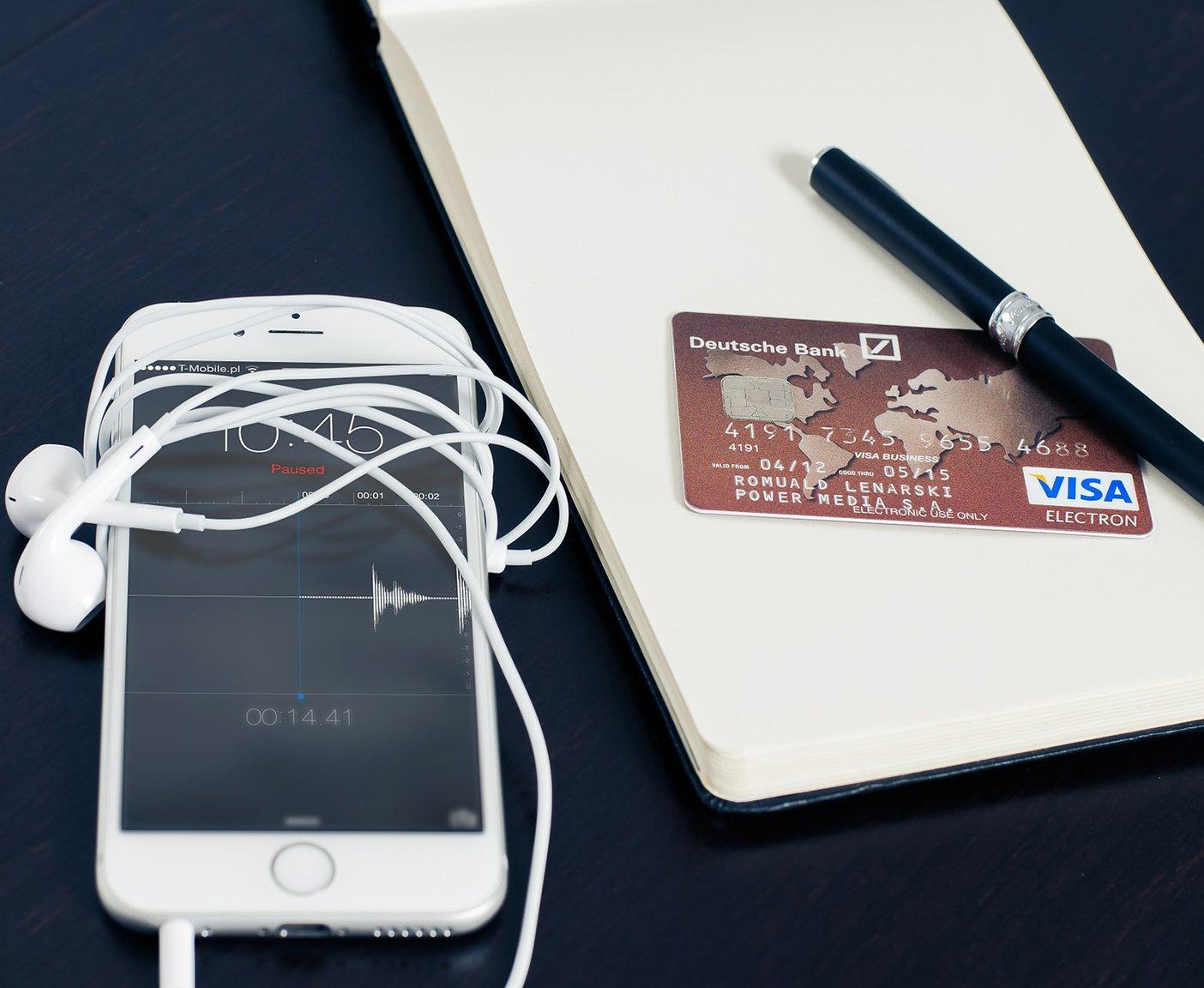 Online Zahlung mit Visacard