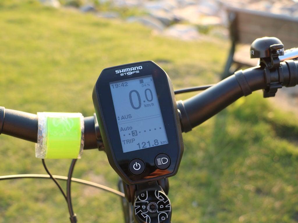 Camping mit E-Bike - der Steuerungscomputer