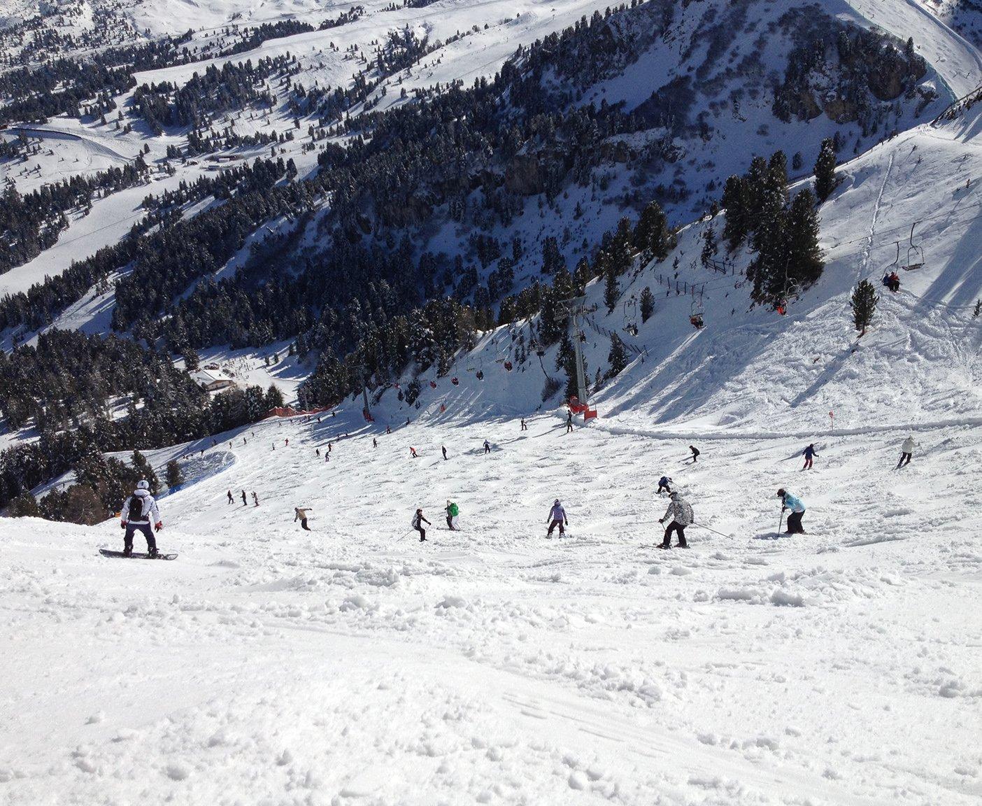 Skiurlaub in Österreich und Deutschland