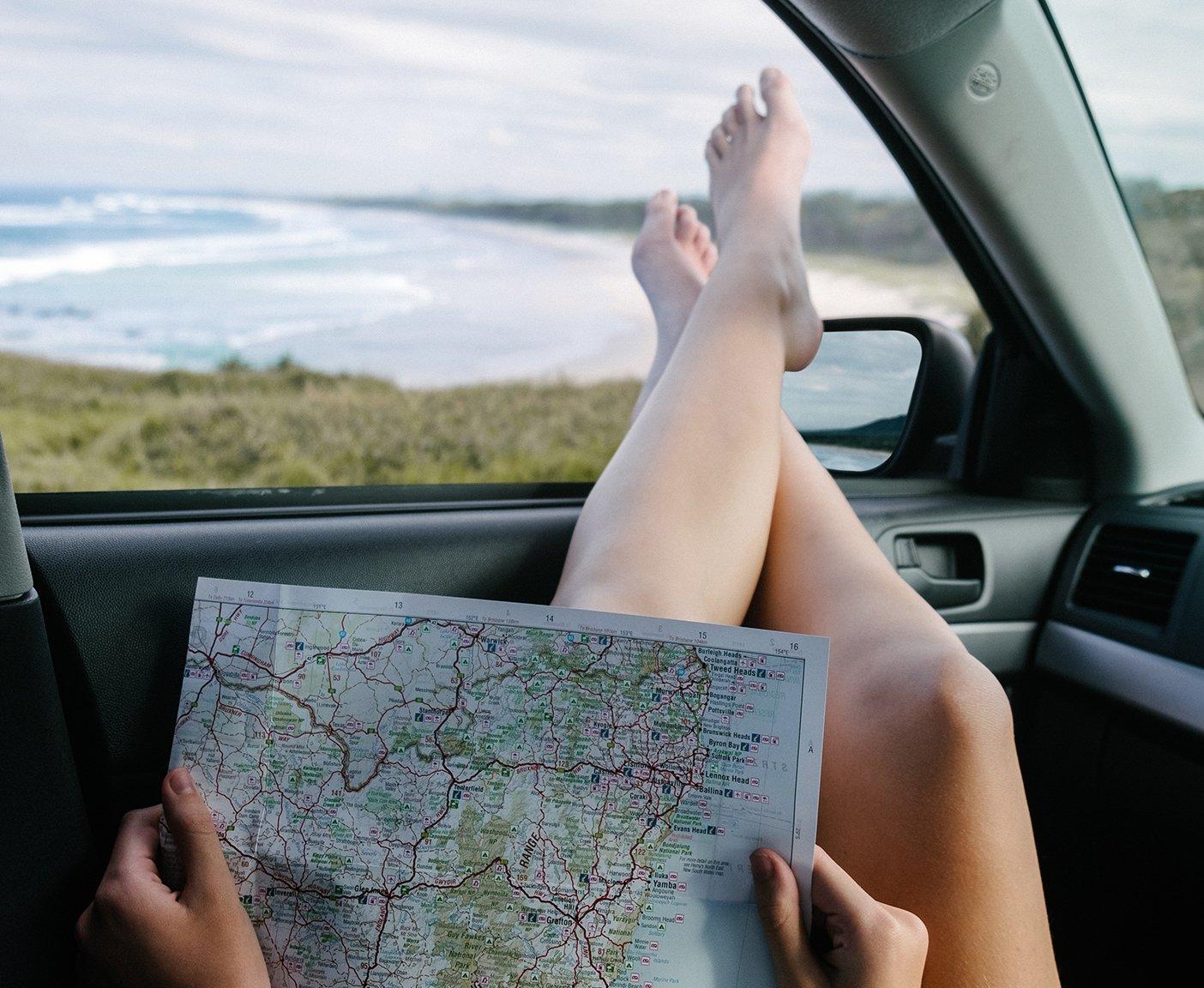 Wohnmobil-Grundausstattung fuer Einsteiger Karte zur Navigation