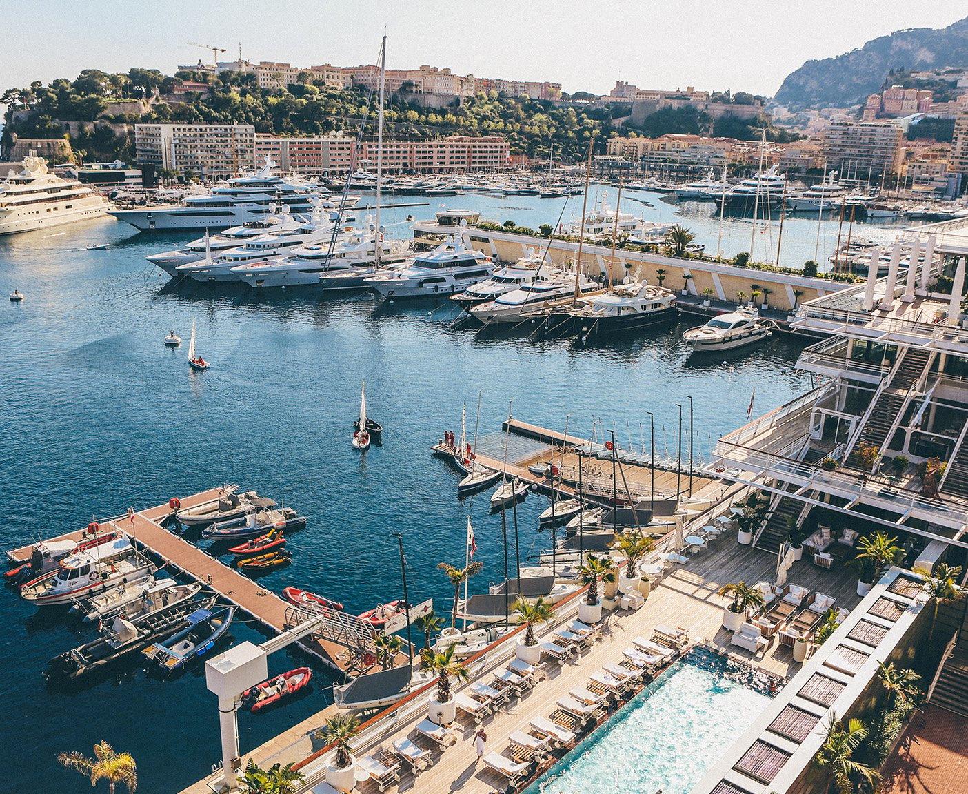 Wohnmobil-Reisen in Europa Monaco Yachthafen beste Wohnmobiltouren