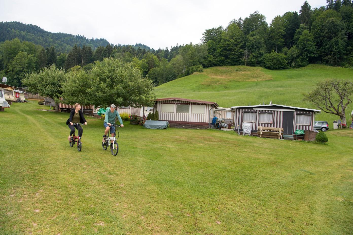 Radreisen Campingplatz