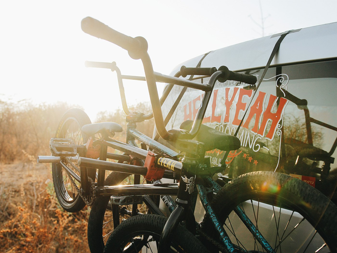 Anhängerkupplung am Wohnmobil für Fahrradträger