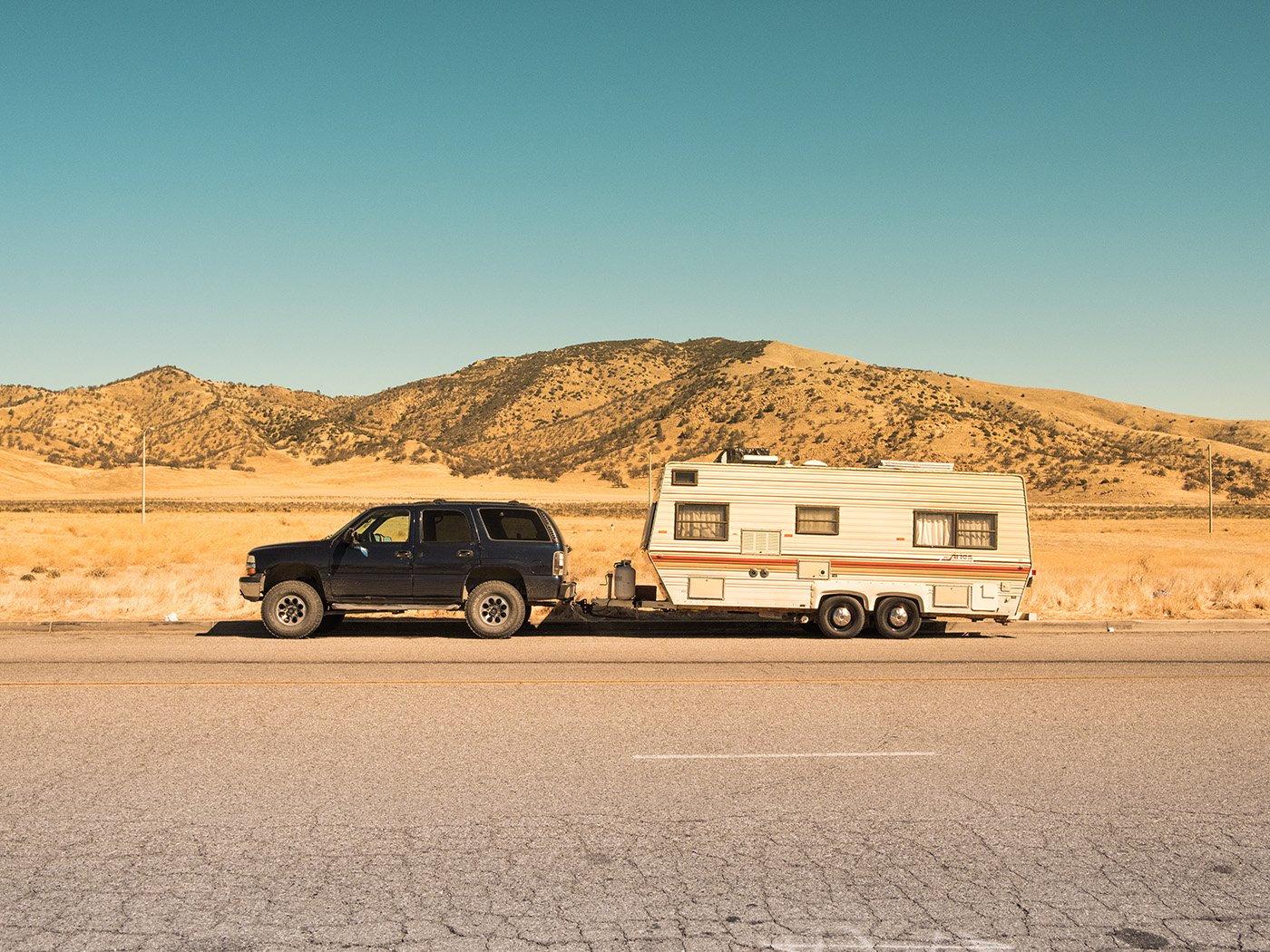 Wohnmobil-Führerschein mit Wohnwagen