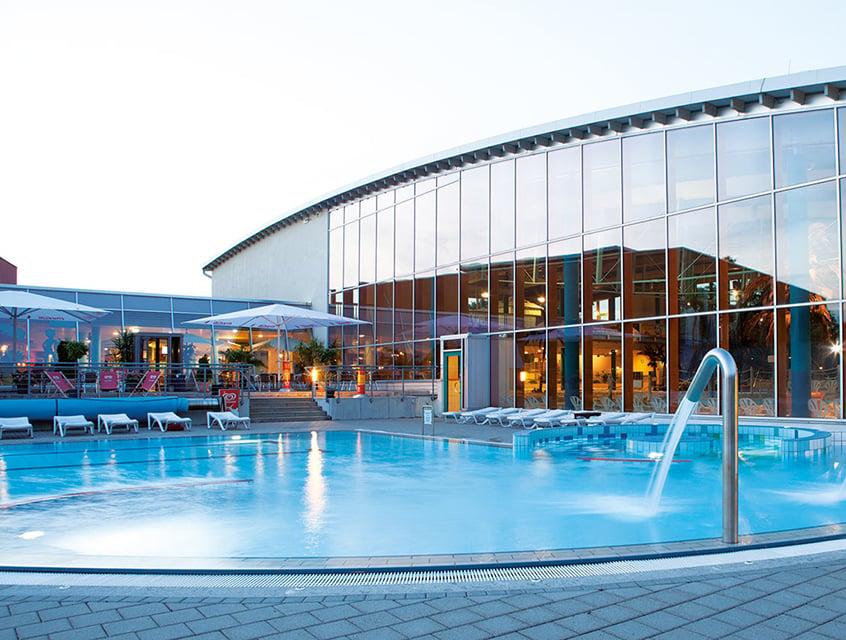 Interspa mit Schwimmbecken in Brandenburg