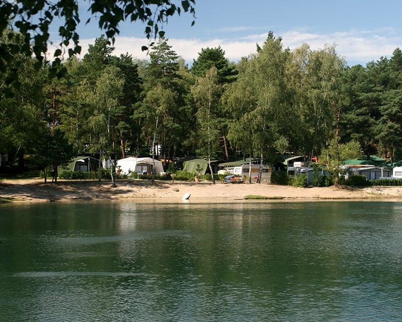 Campingplatz Waldbad beim Klettern in Brandenburg