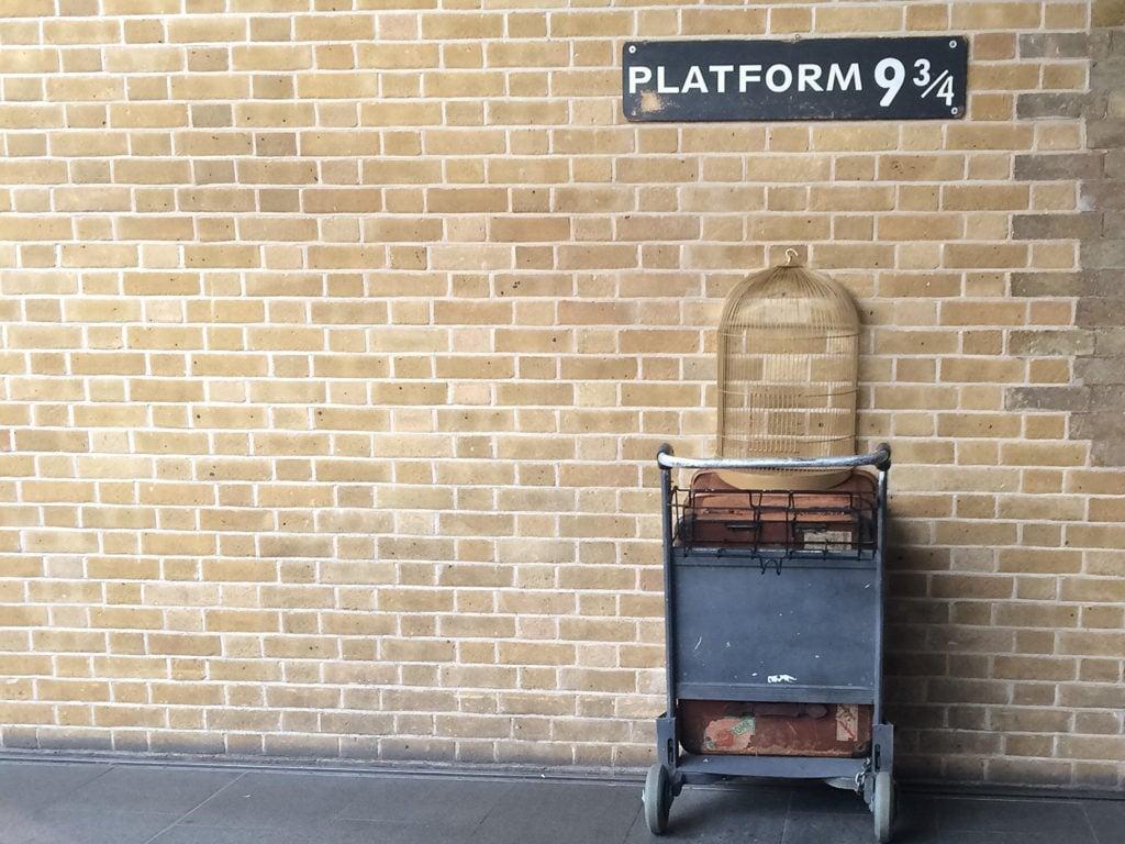 Drehorte in Europa Harry Potter Kings Cross Bahnhof