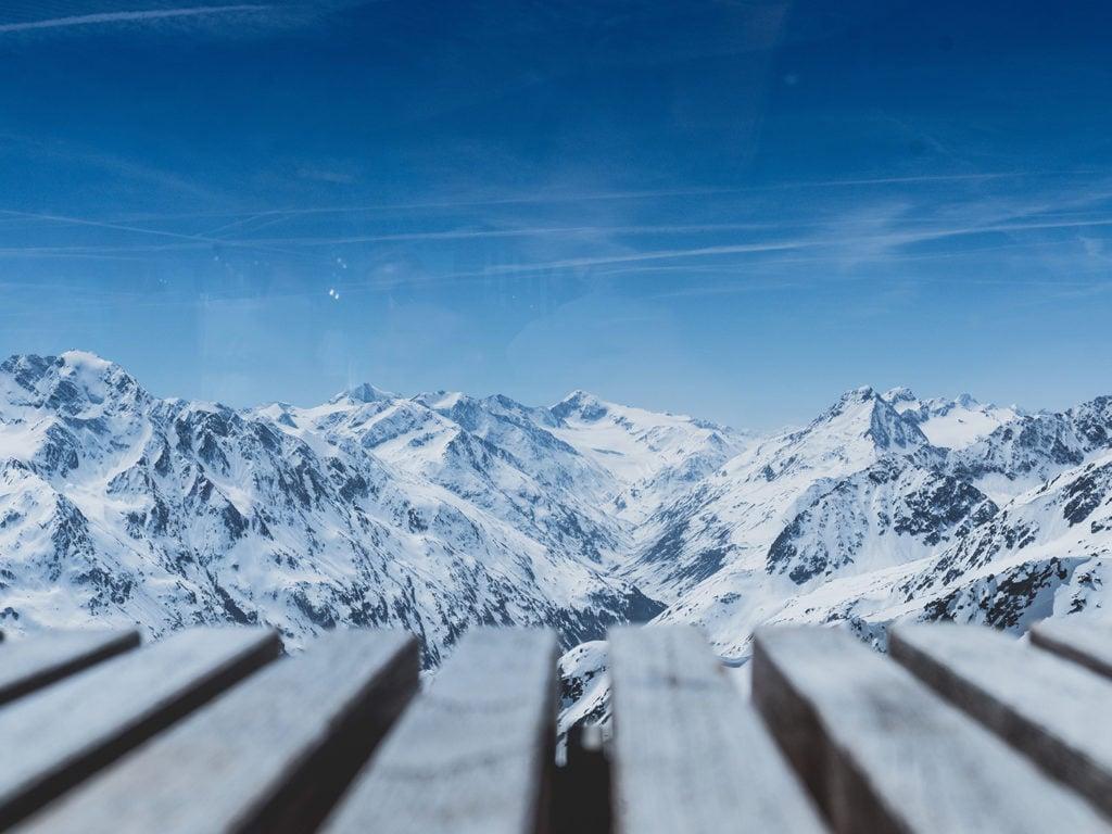 Drehorte in Europa Soelden James Bond Berge Schnee