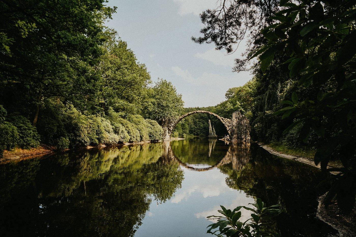 Die Rakotzbrücke in Sachsen