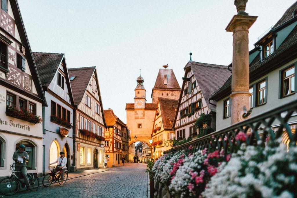 Familienurlaub Deutschland Rothenburg