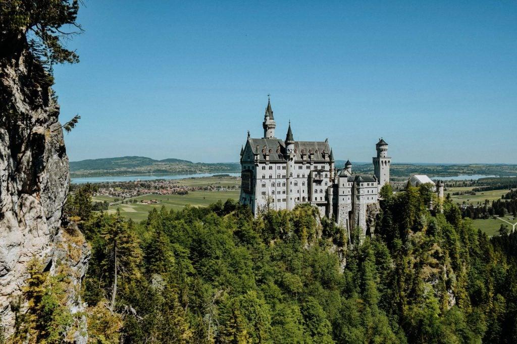 Familienurlaub Deutschland Schloß Neuschwanstein
