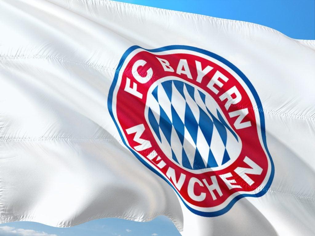 Bayern München Spieler Flagge Roadtrip