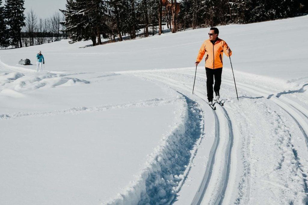 Wintercamping Bayern Langlauf