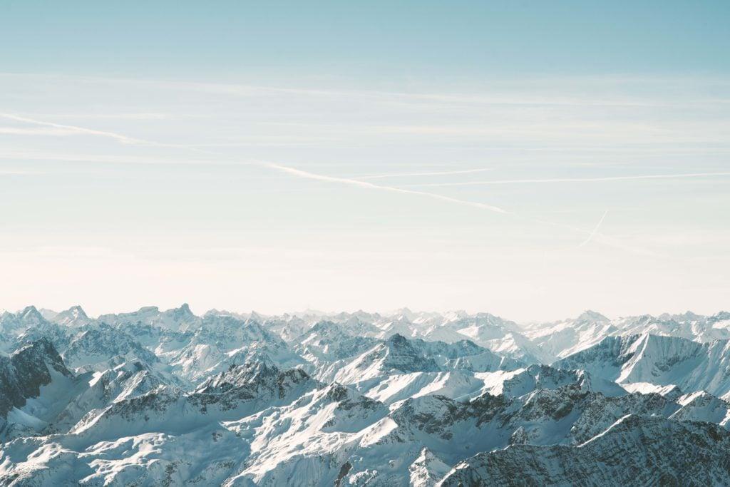 Wintercamping Bayern Zugspitze