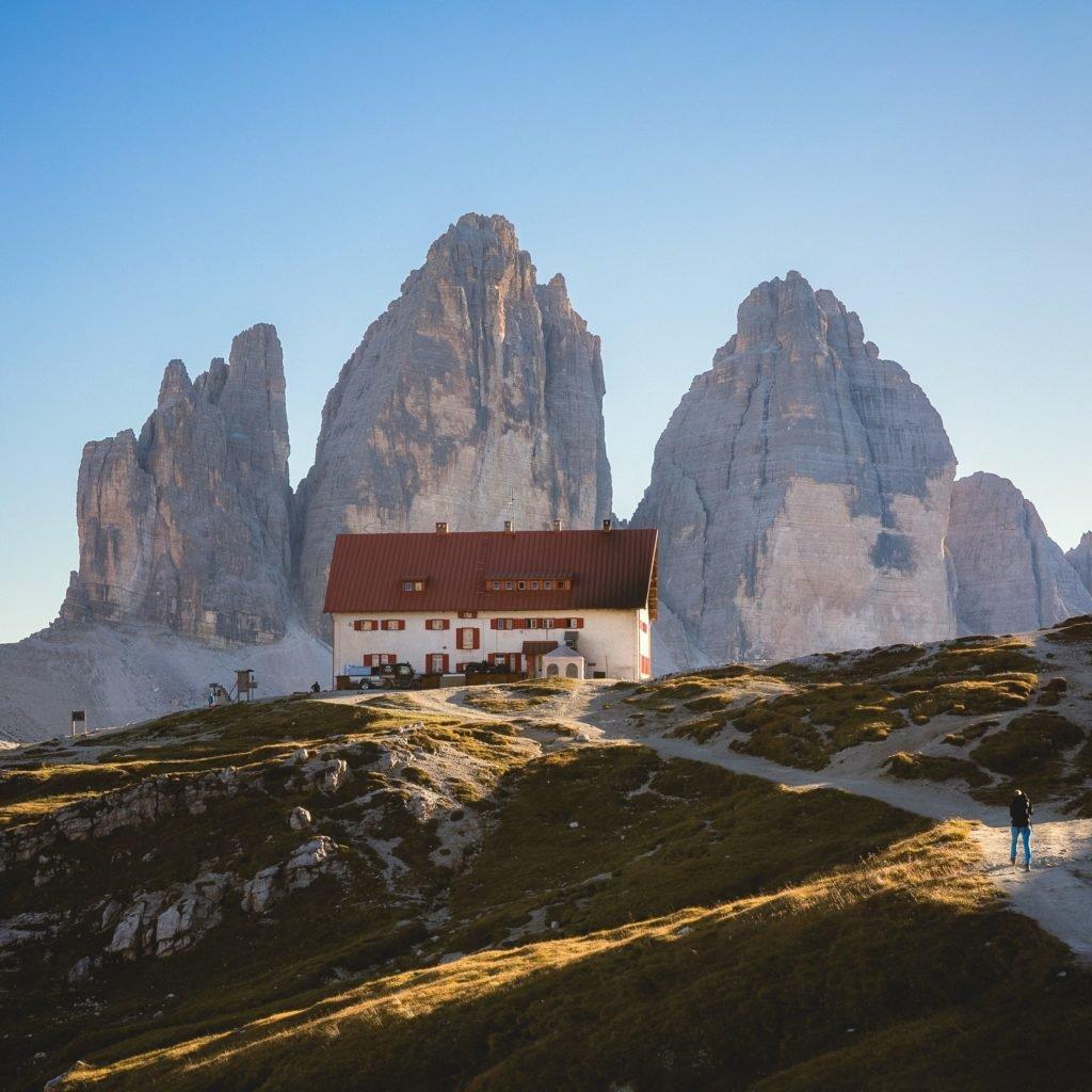 Camping in Südtirol in den Dolomiten