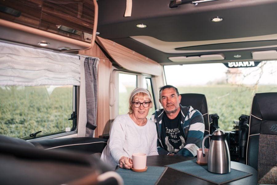 Bild Vermieterinterview Kerstin und Bernd – mit niedlichem Luxuscamper durch Amerika