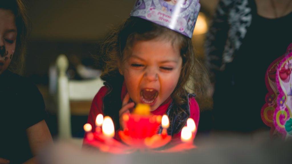 Mias Wohnmobil Geschenke für Kinder Geburtstag Torte Kerzen