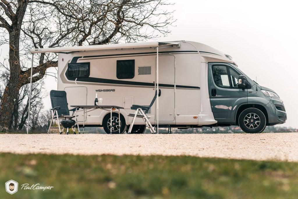Wohnmobil Vermieter PaulCamper Markise