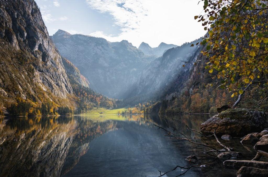 Reiseziele für den Urlaub mit dem Camper im September in Berchtesgaden