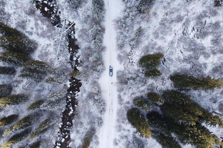 Bild Top 5 places for a campervan ski trip in Scotland