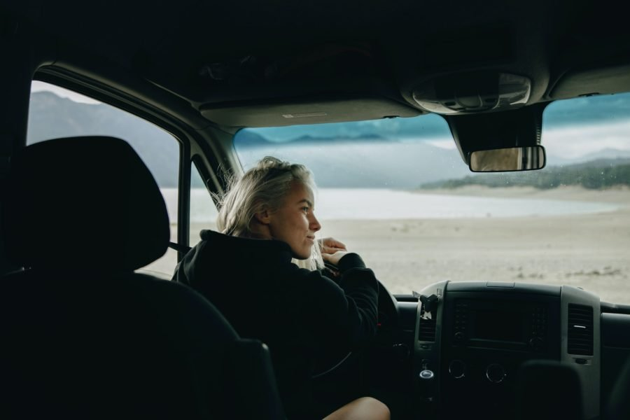 Bild Allein reisen mit dem Wohnmobil als Frau