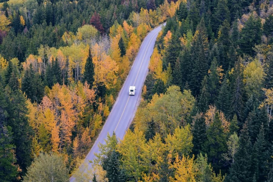 Bild 7 holiday destinations for camping in autumn in the UK