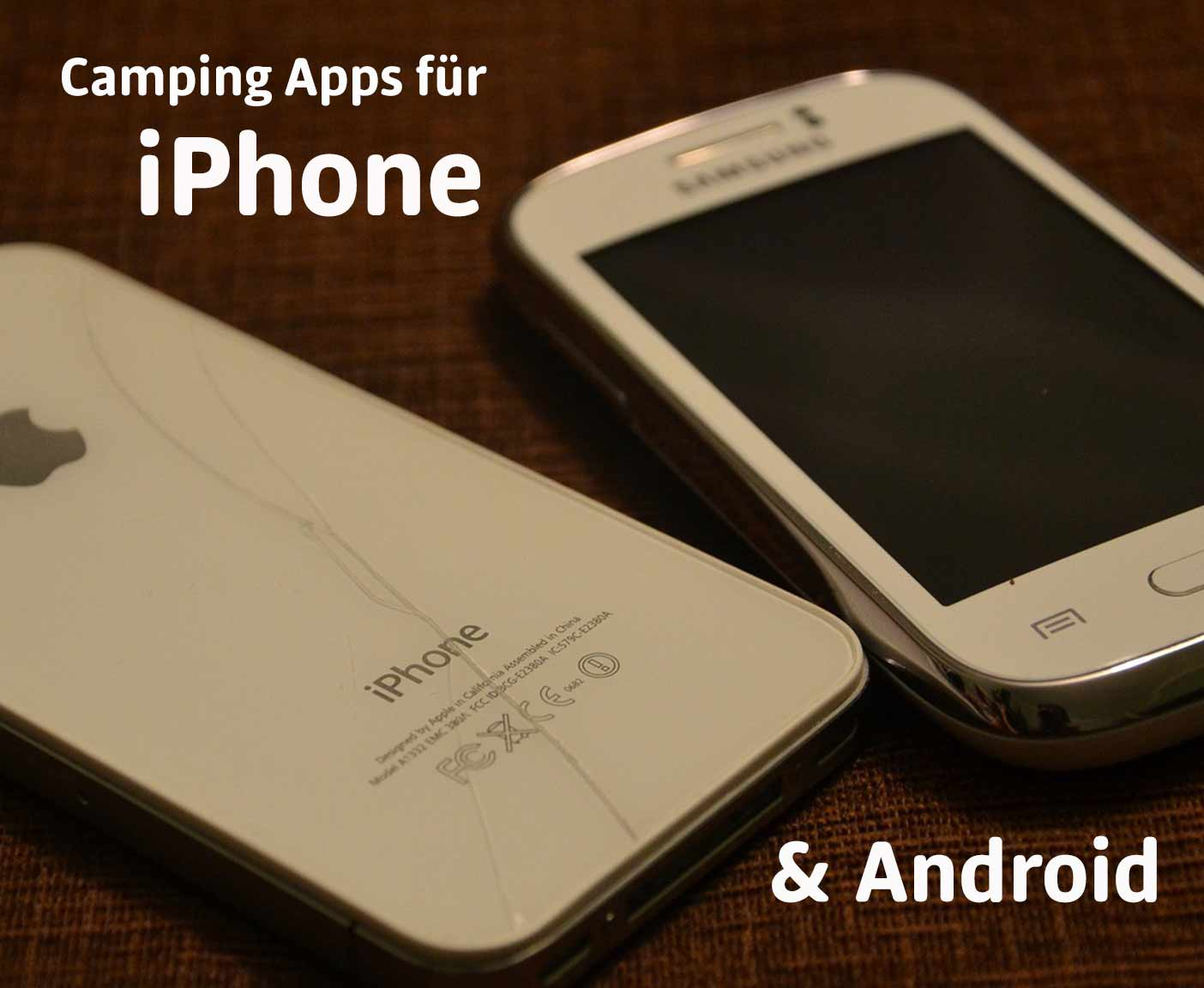 diese camping apps f r iphone und android erleichtern. Black Bedroom Furniture Sets. Home Design Ideas