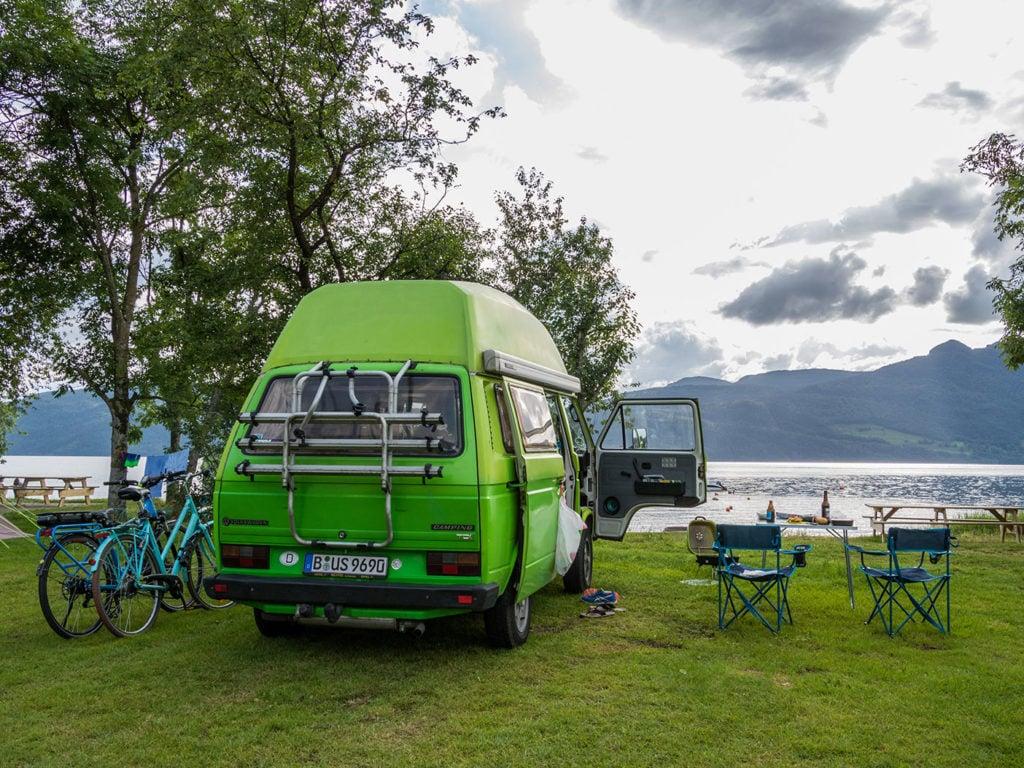 Camping mit E-Bike - entspannter Urlaub