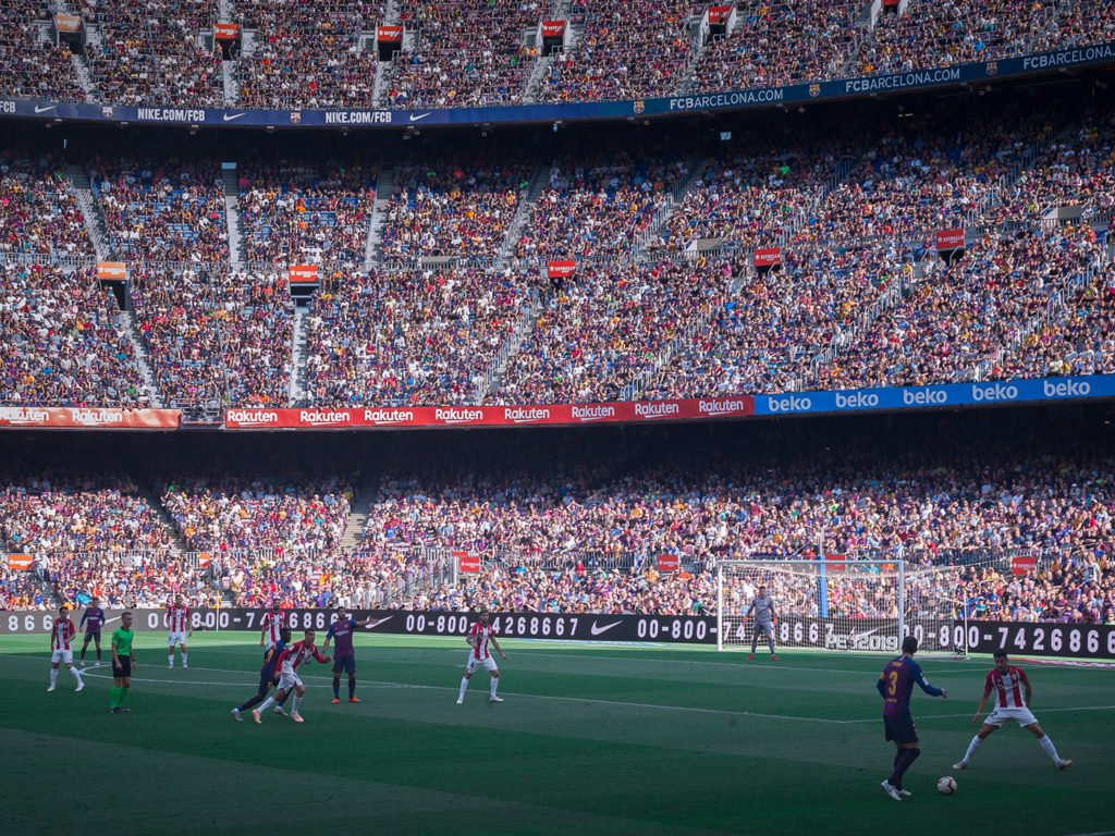 Champions League Finale 2019 Spiel in Barcelona