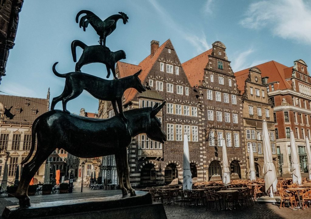 Familienurlaub Deutschland Bremer Stadtmusikanten