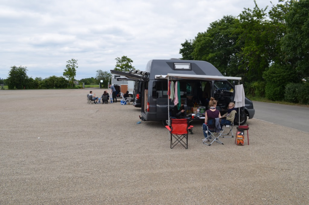 Reisebericht Festival-Mai 2014 Maifeld Derby mit Ford Transit Camper